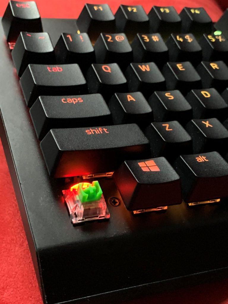 Klawiatura BlackWidow V3 Pro przełączniki