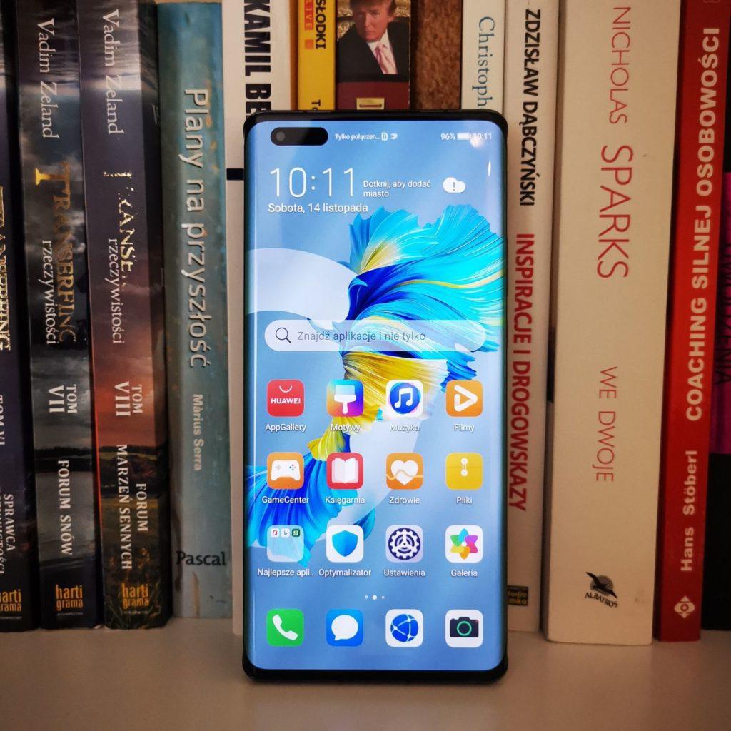 Huawei Mate 40 Pro odświeżanie 90 Hz