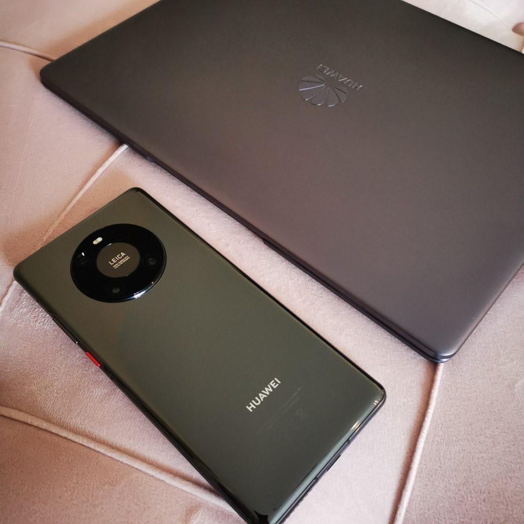 Huawei Mate 40 Pro porównanie z MateBookiem