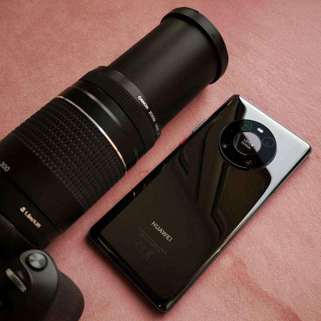 Huawei Mate 40 Pro obiektyw 50x