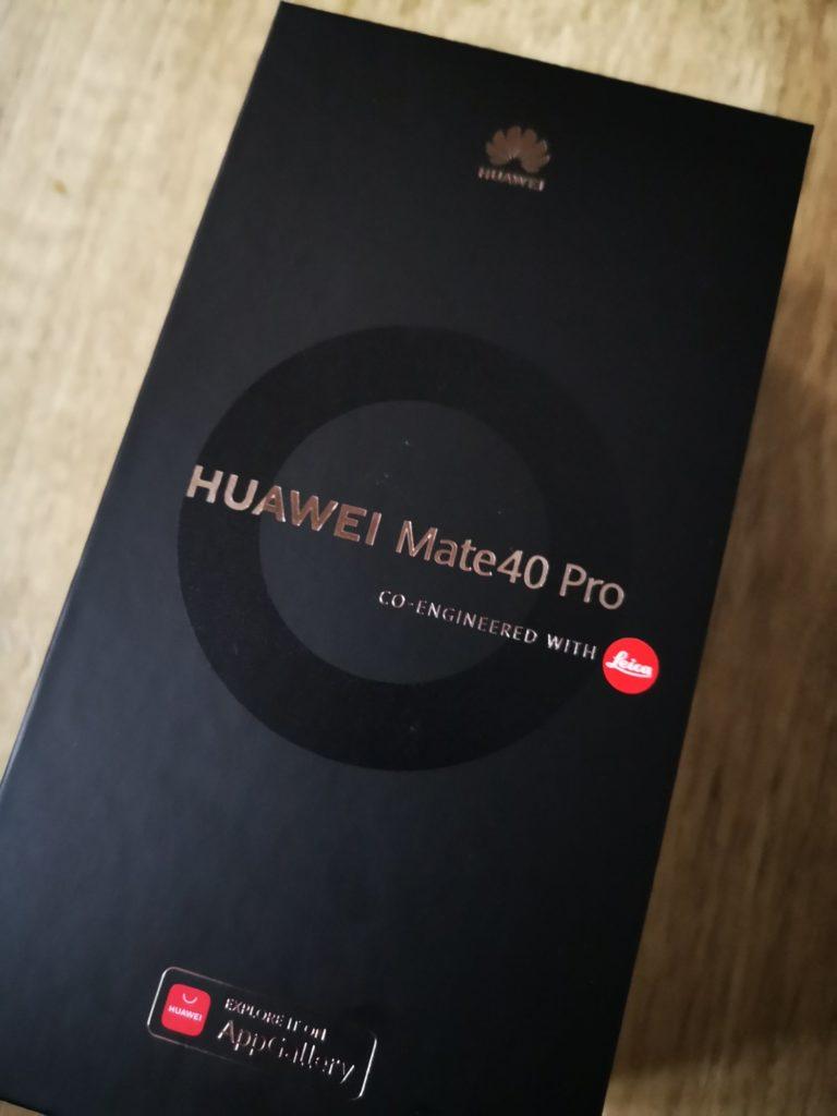 Huawei Mate 40 Pro pudełko