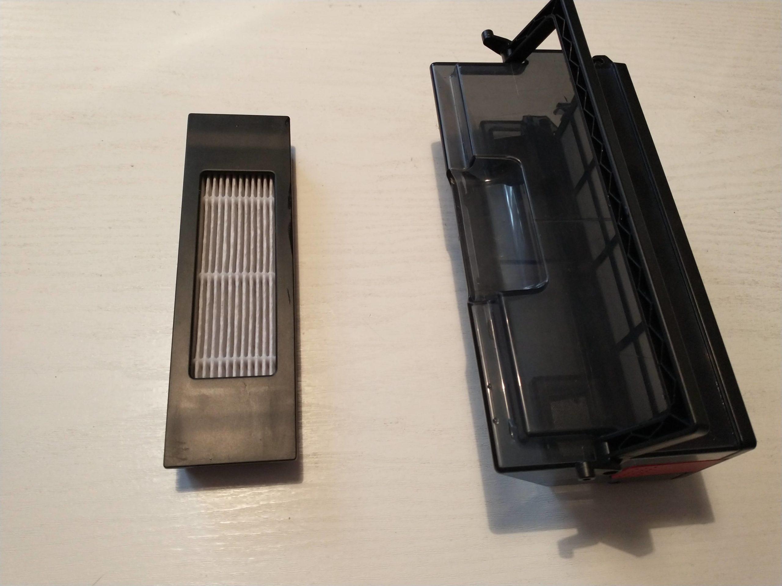 ozmo t8+ pojemniczek na kurz filtr