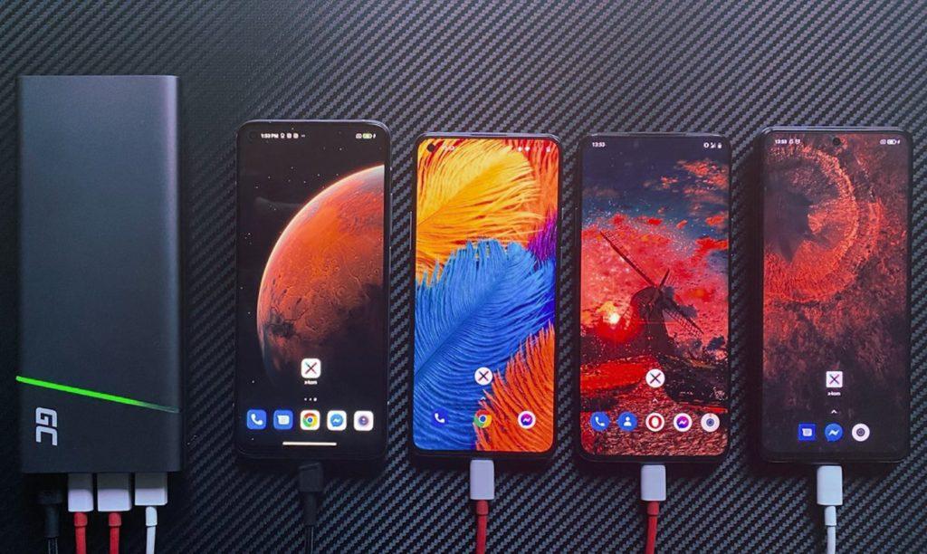 PowerPlay Ultra i 4 smartfony
