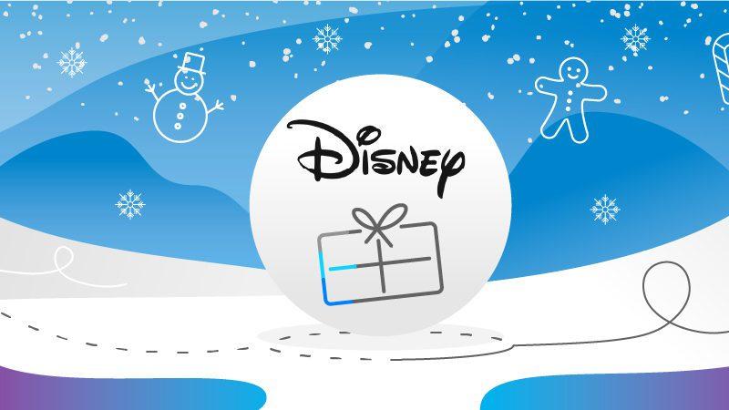 Prezent z logo Disneya na święta