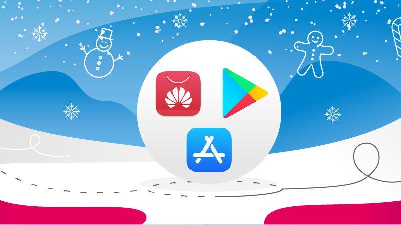 Wprowadź się w świąteczny nastrój z aplikacjami świątecznymi