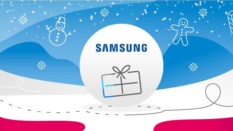 Prezent świąteczny z logo Samsunga. Sprawdź nasze propozycje