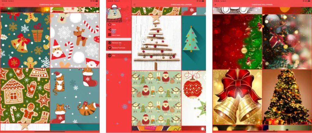 tapety świąteczne App Store