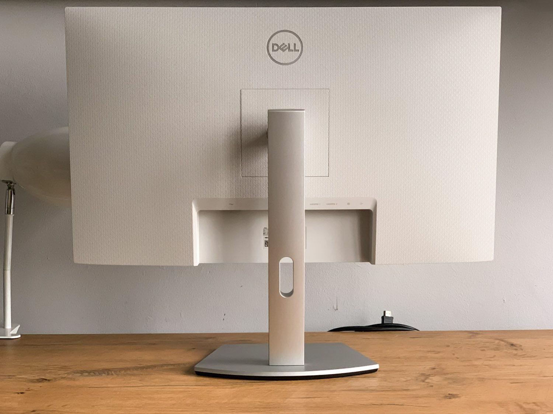 biały monitor dell