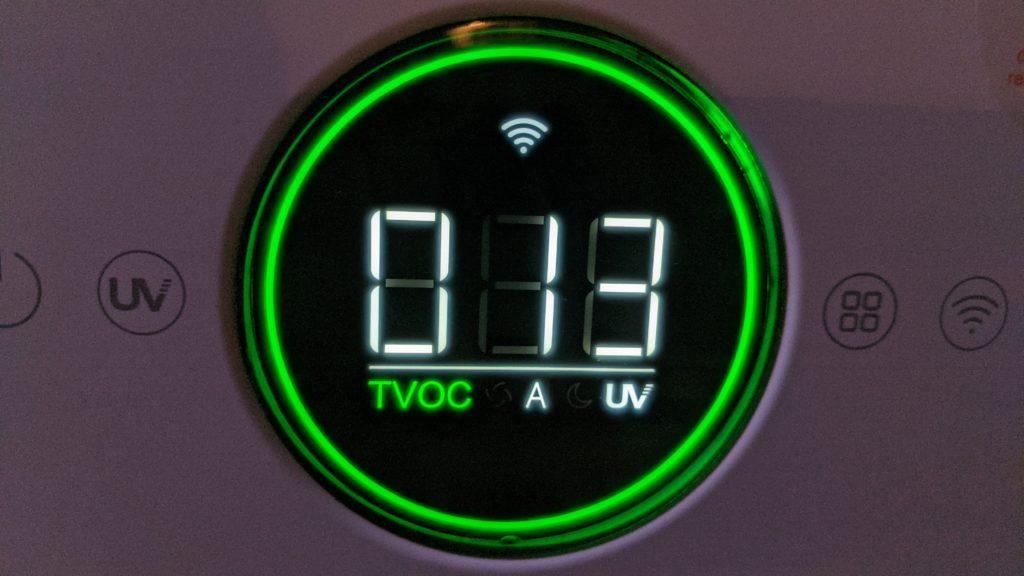 wyświetlacz viomi smart air purifier