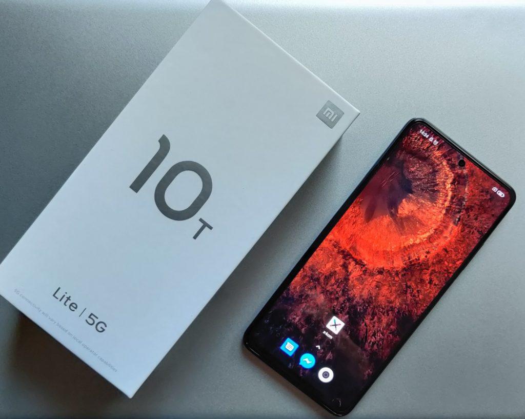 Xiaomi Mi 10T Lite 5G na leżąco