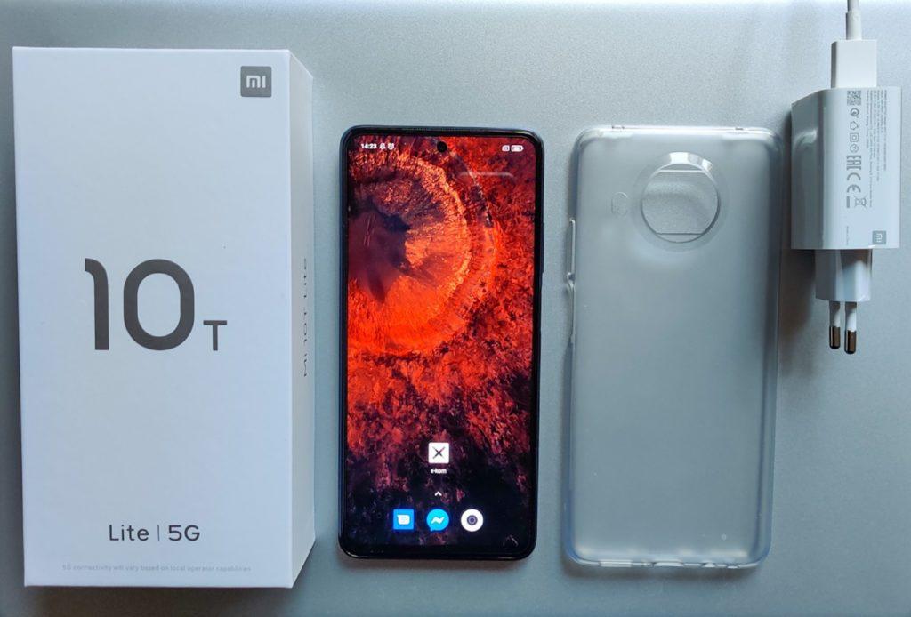 unboxing Xiaomi Mi 10T Lite 5G