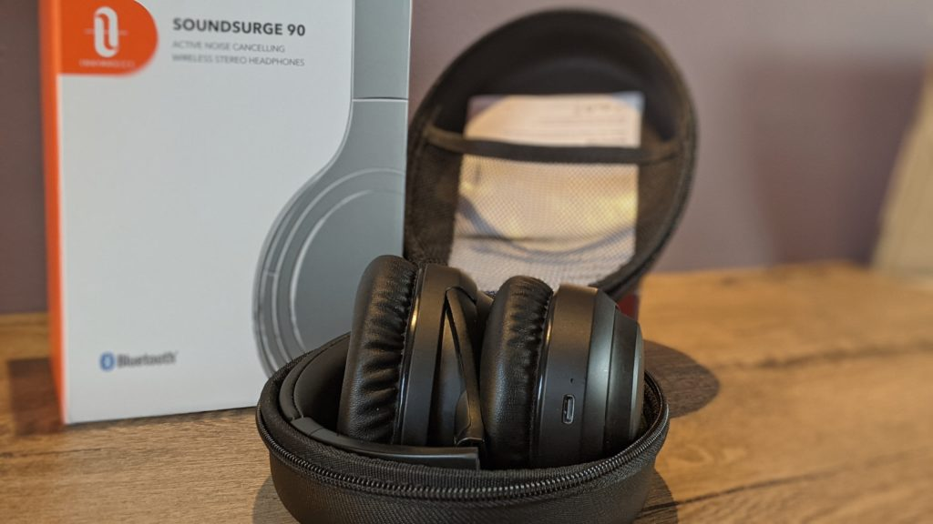 słuchawki taotronics tt-bh090 po złożeniu
