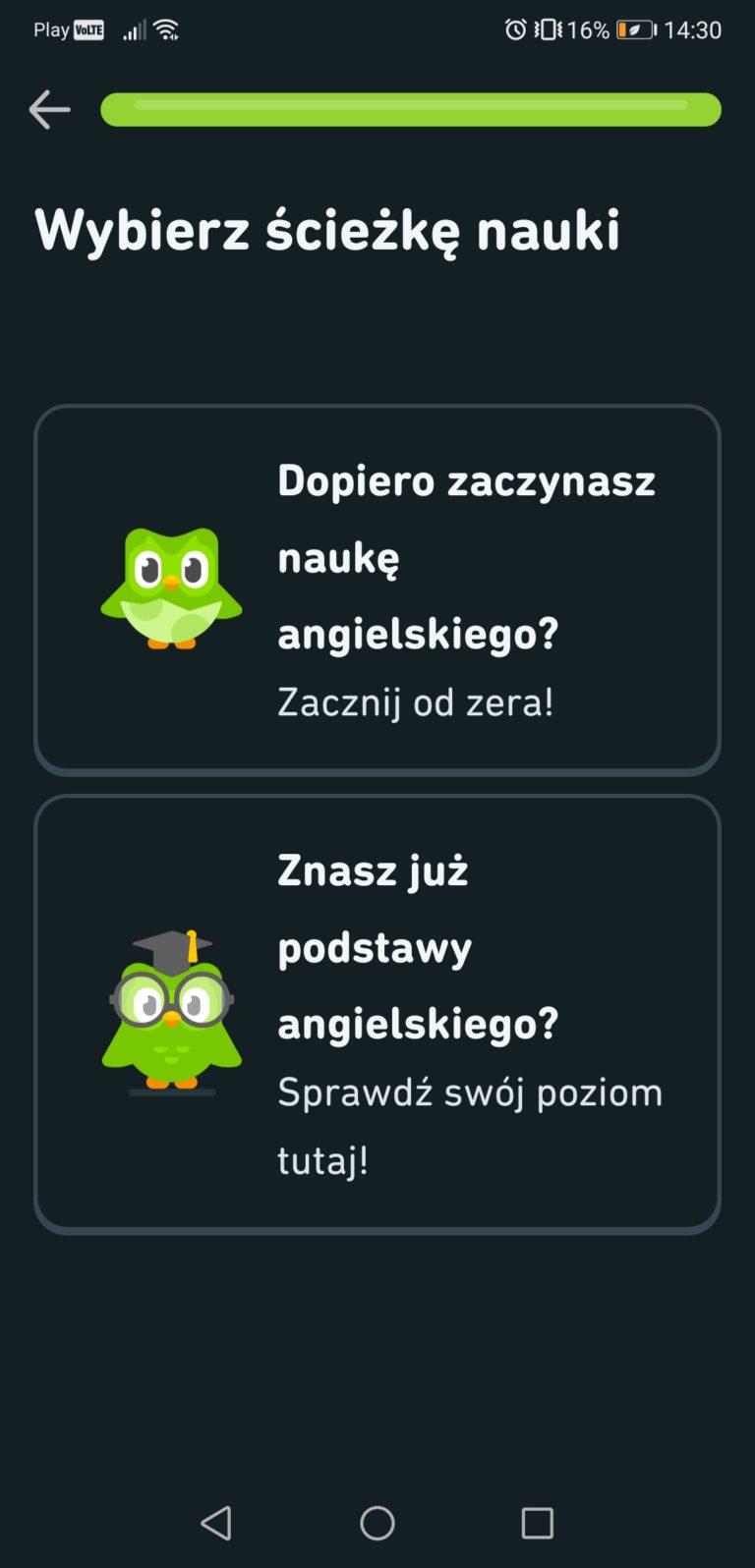 duolingo aplikacja do nauki języków obcych