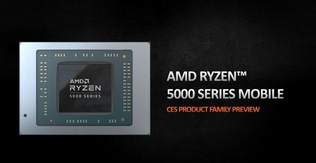 AMD Ryzen 5000 procesory mobilne