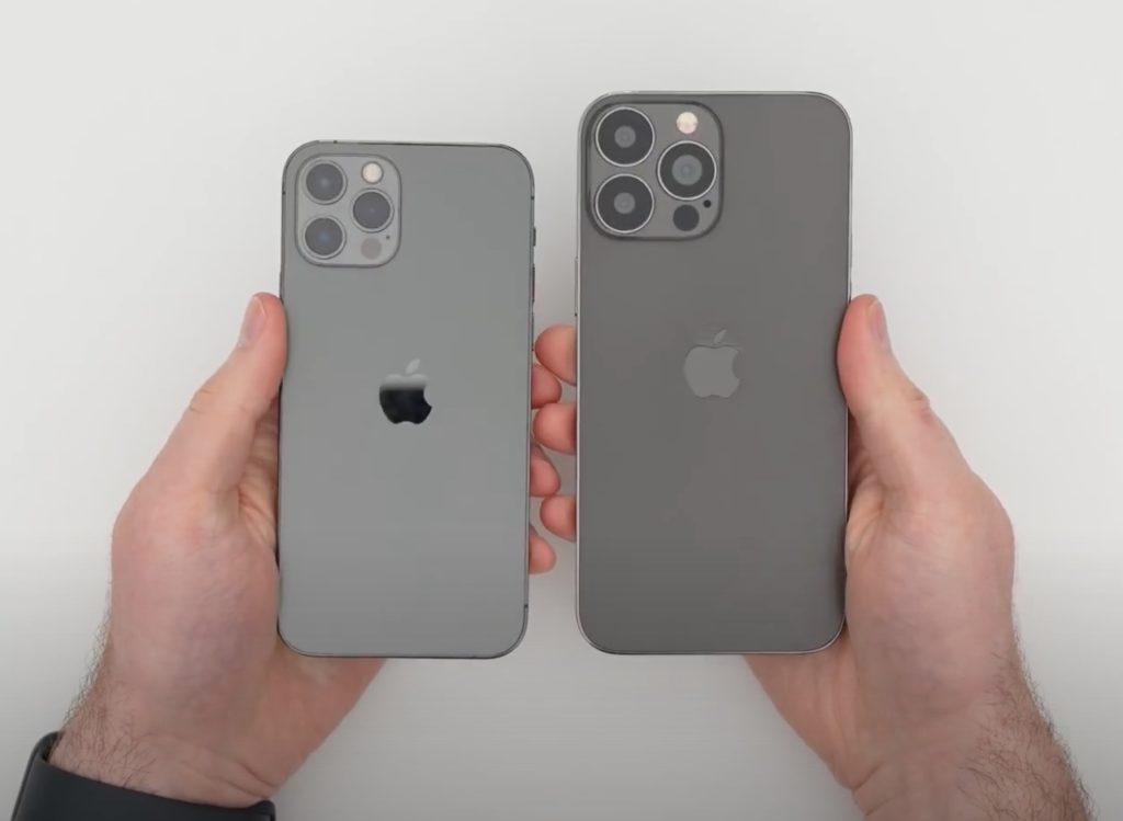 iPhone 12 Pro vs iPhone 13 Pro Max