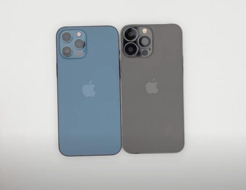 iPhone 12 Pro Max oraz iPhone 13 Pro Max