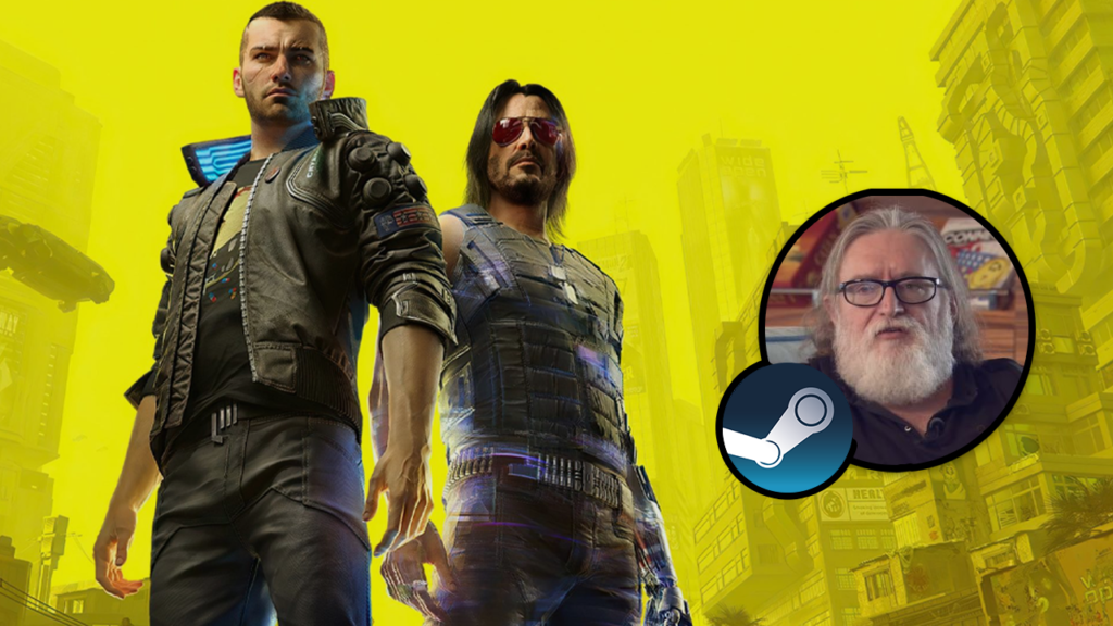 Cyberpunk 2077 Gabe Newell