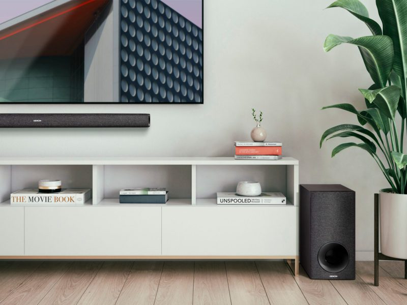 Chromekaściak. Test i recenzja soundbara Denon DHT-S416