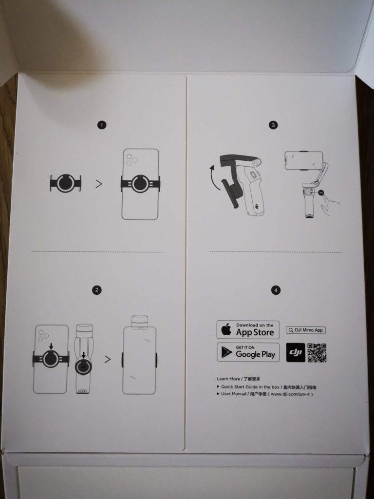 DJI Osmo Mobile 4 instrukcja parowania ze smartfonem