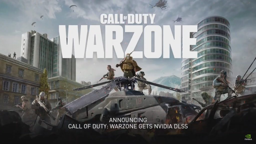 DLSS w Call of Duty: Warzone oraz The Outsiders