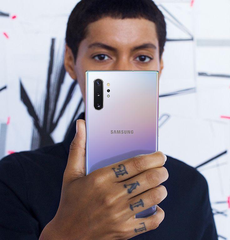 rozpoznawanie twarzy Galaxy Note 10