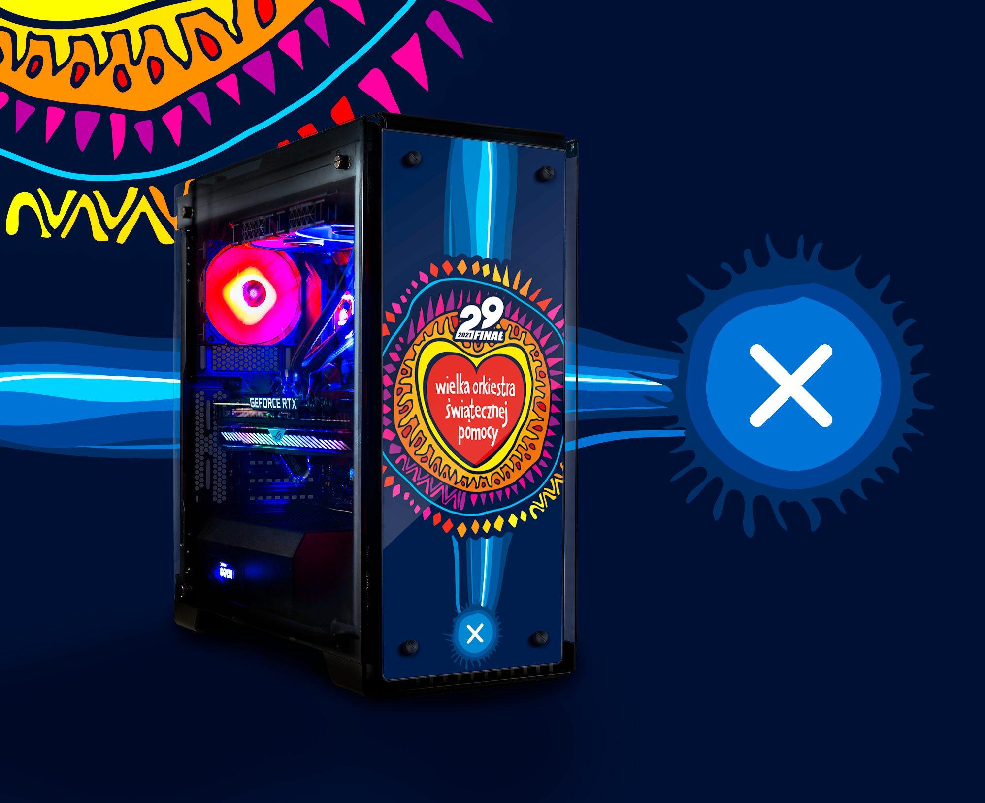 Zagraj z nami dla WOŚP i wylicytuj wyjątkowy desktop G4M3R 600 Custom