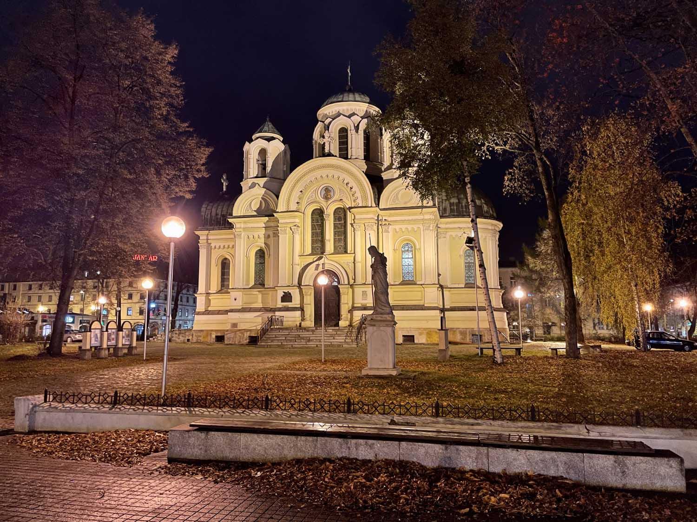 kościół w częstochowie iphone 12 pro