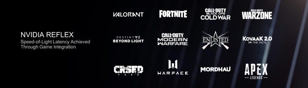 Technologia NVIDIA Reflex wsparcie w grach
