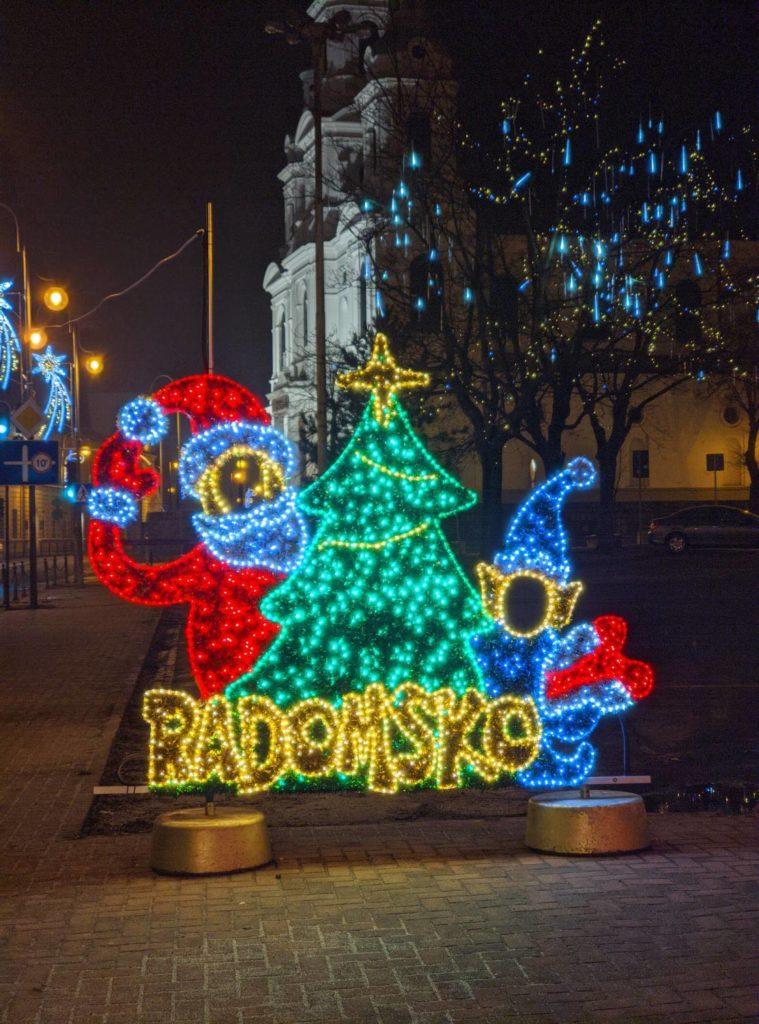 Napis Radomsko OnePlus 7T Pro gcam tryb nocny zoom 2x