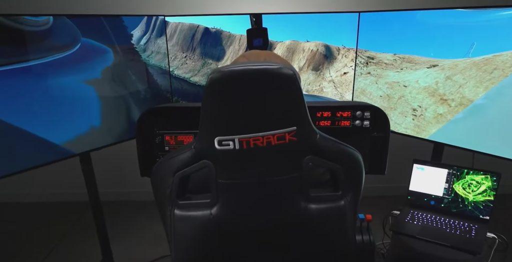 Razer Blade RTX 3080 w Microsoft Flight Simulator