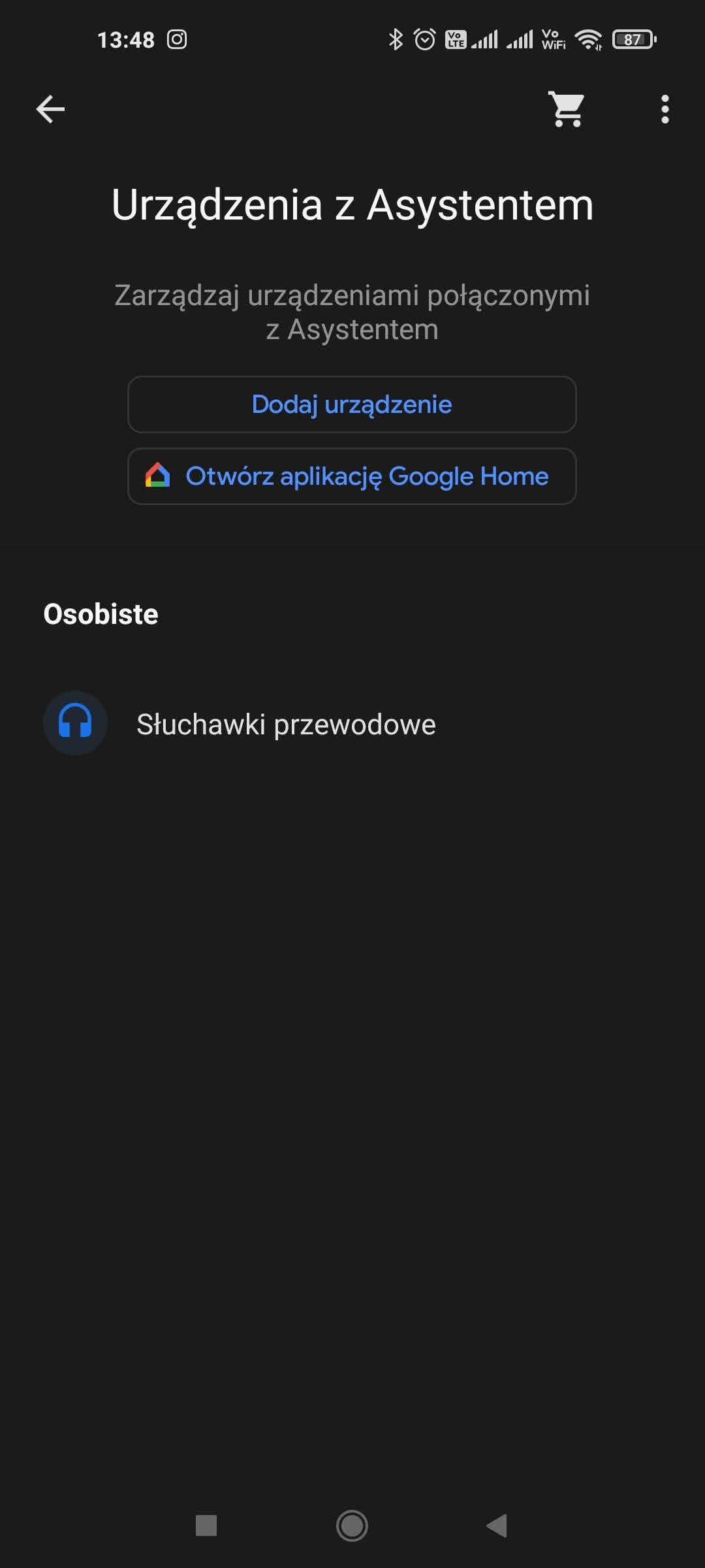 urzadzenia asystent google
