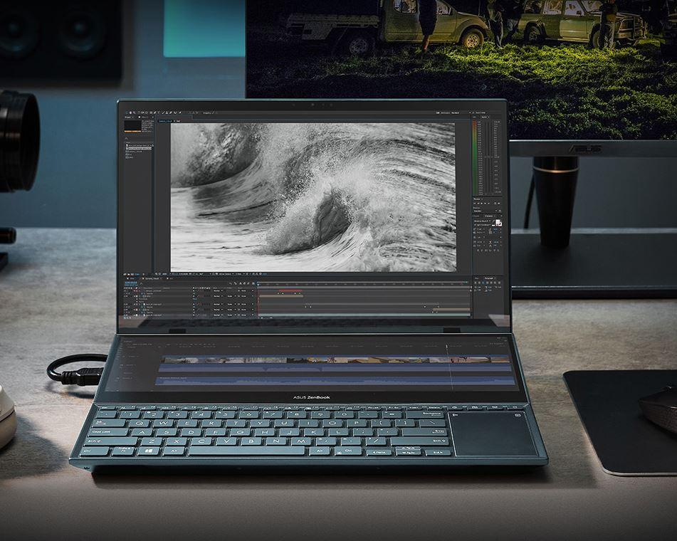 ASUS ZenBook DUO OLED