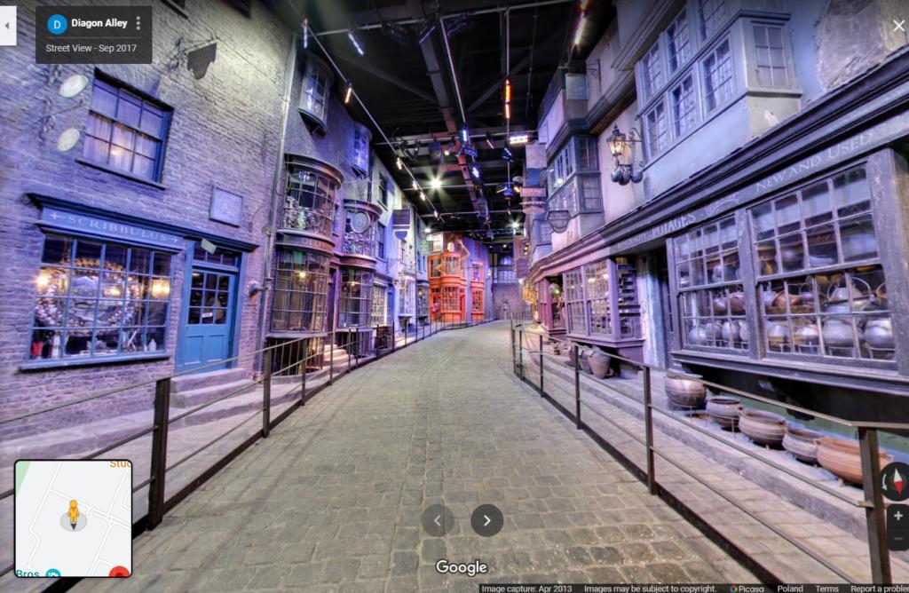Harry Potter - Google Street View