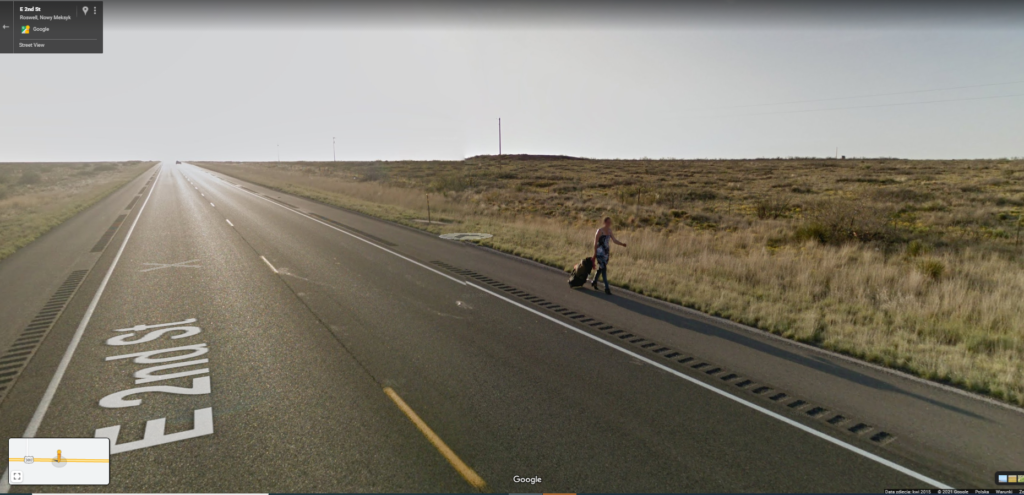Roswell - Google Street View