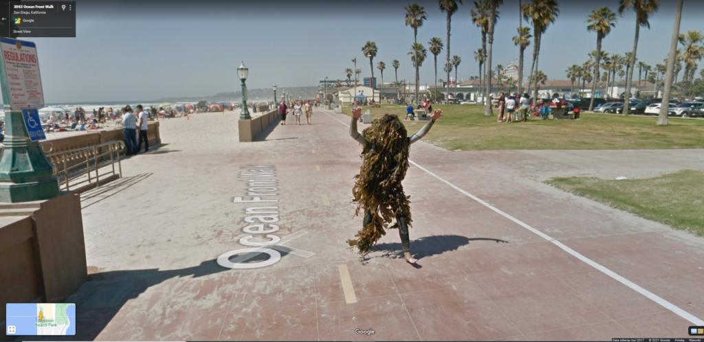 Wodnik - Google Street View