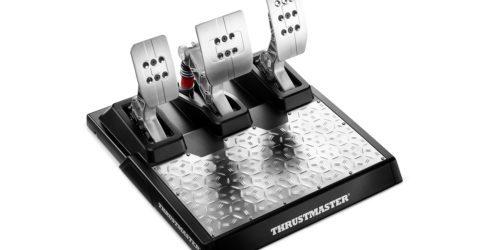 Jazda klasy pro z Thrustmaster T-LCM. Akcesorium niewielkie, zmiana ogromna