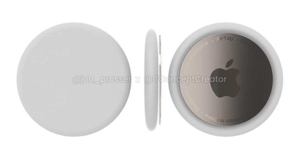 apple air tag render