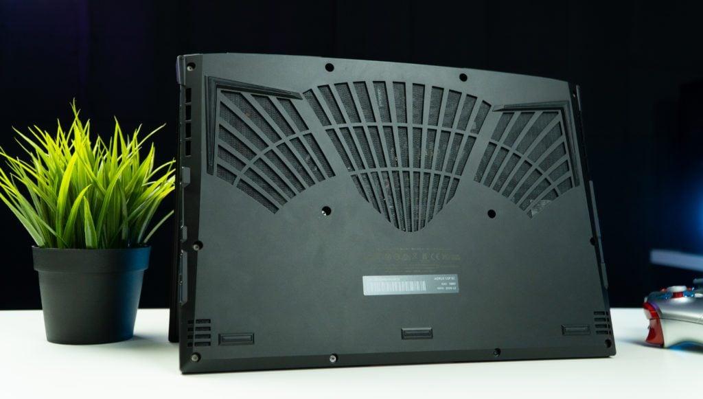 aorus 15p krata wentylacyjna laptopa