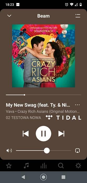 uwór My New Swag z okładką Crazy Rich Asians