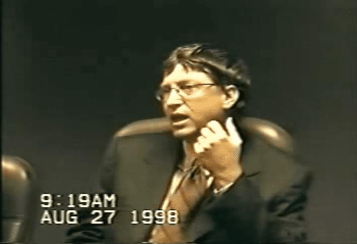 Bill Gates ultimate geek 1998
