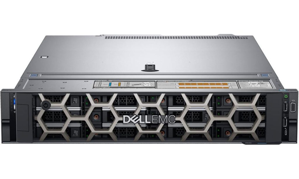 serwer Dell PowerEdge typu rack