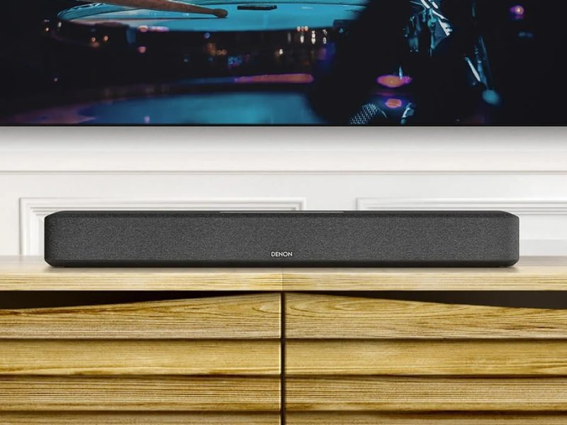 Home Sound Bar 550, czyli co potrafi nowa grajbelka Denona