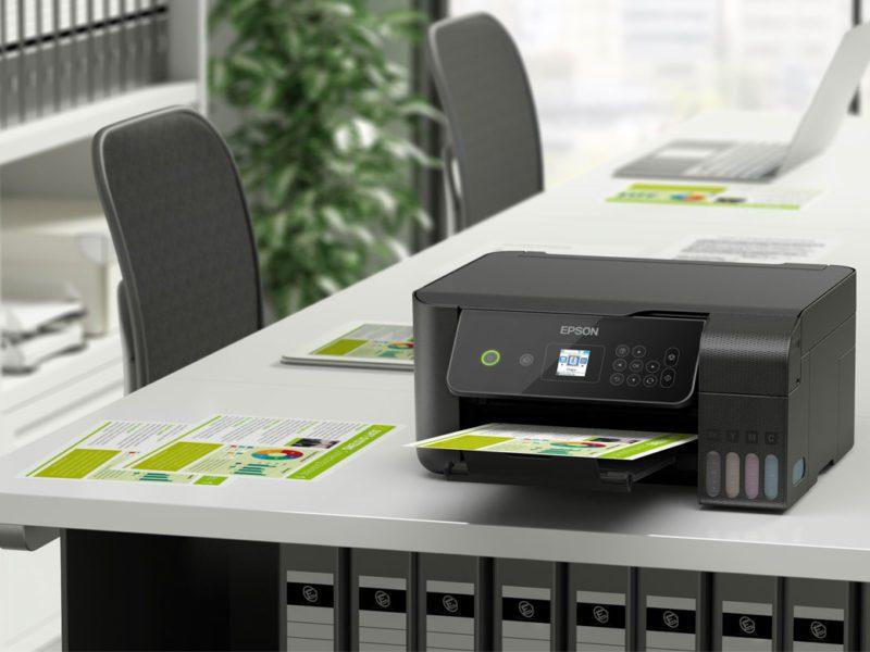 Pracuj i baw się kreatywnie z Epsonem. Ten sprzęt wydrukuje Ci dokumenty i zdjęcia