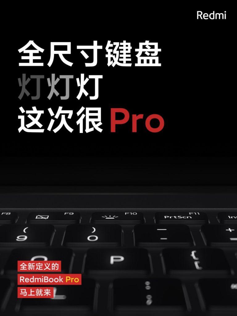 Xiaomi RedmiBook Pro 15 klawiatura