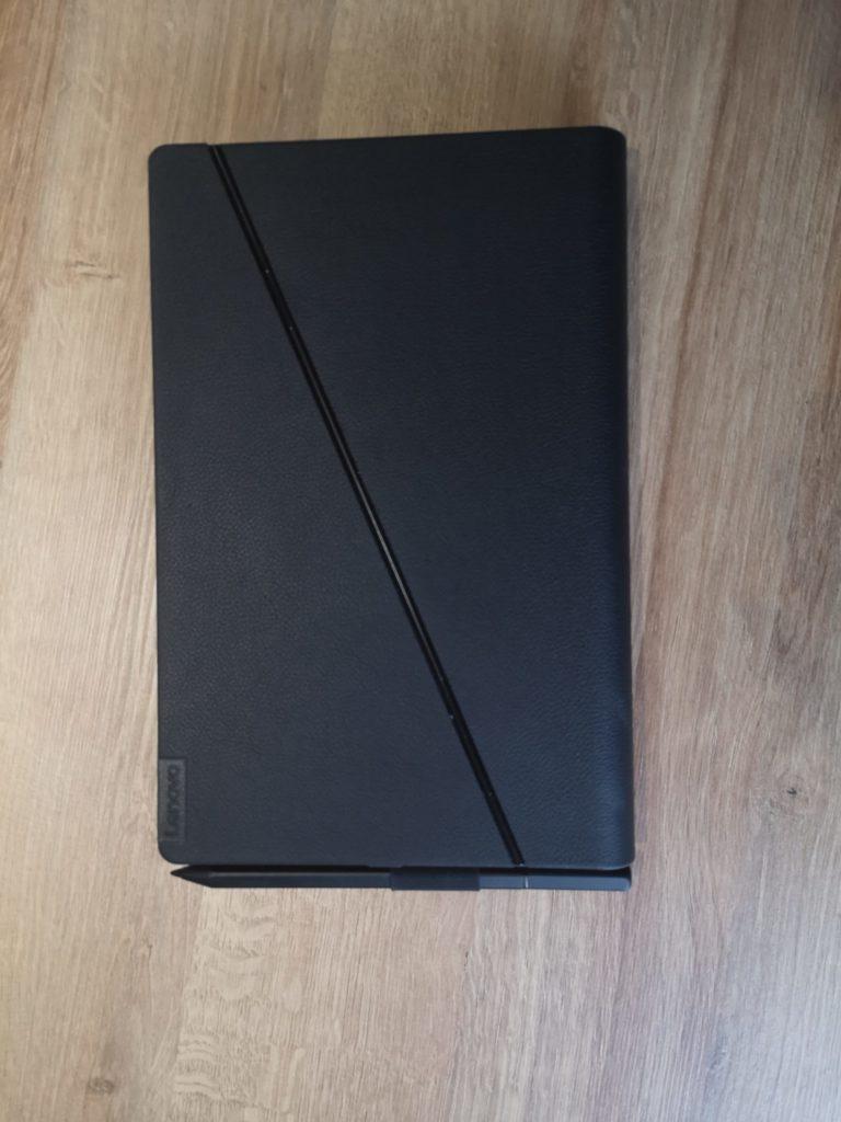Lenovo ThinkPad X1 Fold złożony tył