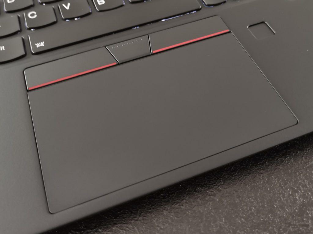 lenovo thinkpad x1 nano touchpad
