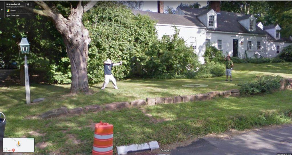 łuk - Google street view