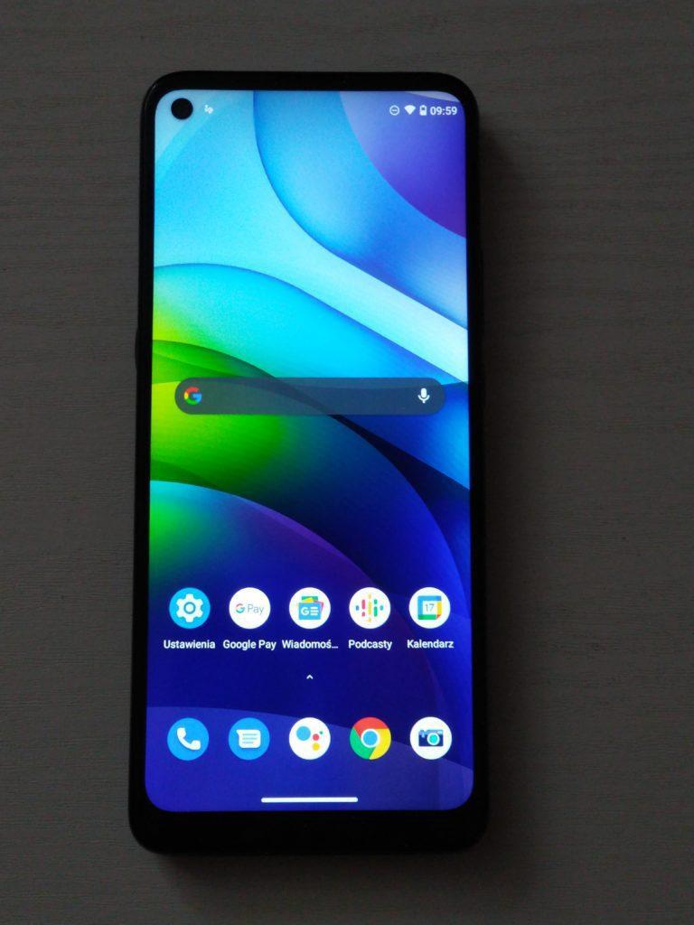 Moto G9 Power ekran