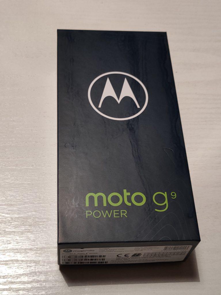 Moto G9 Power pudełko