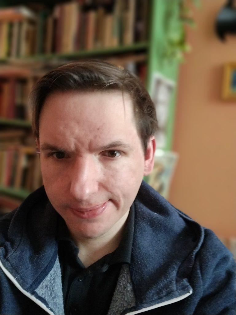 Moto G9 Power selfie portret